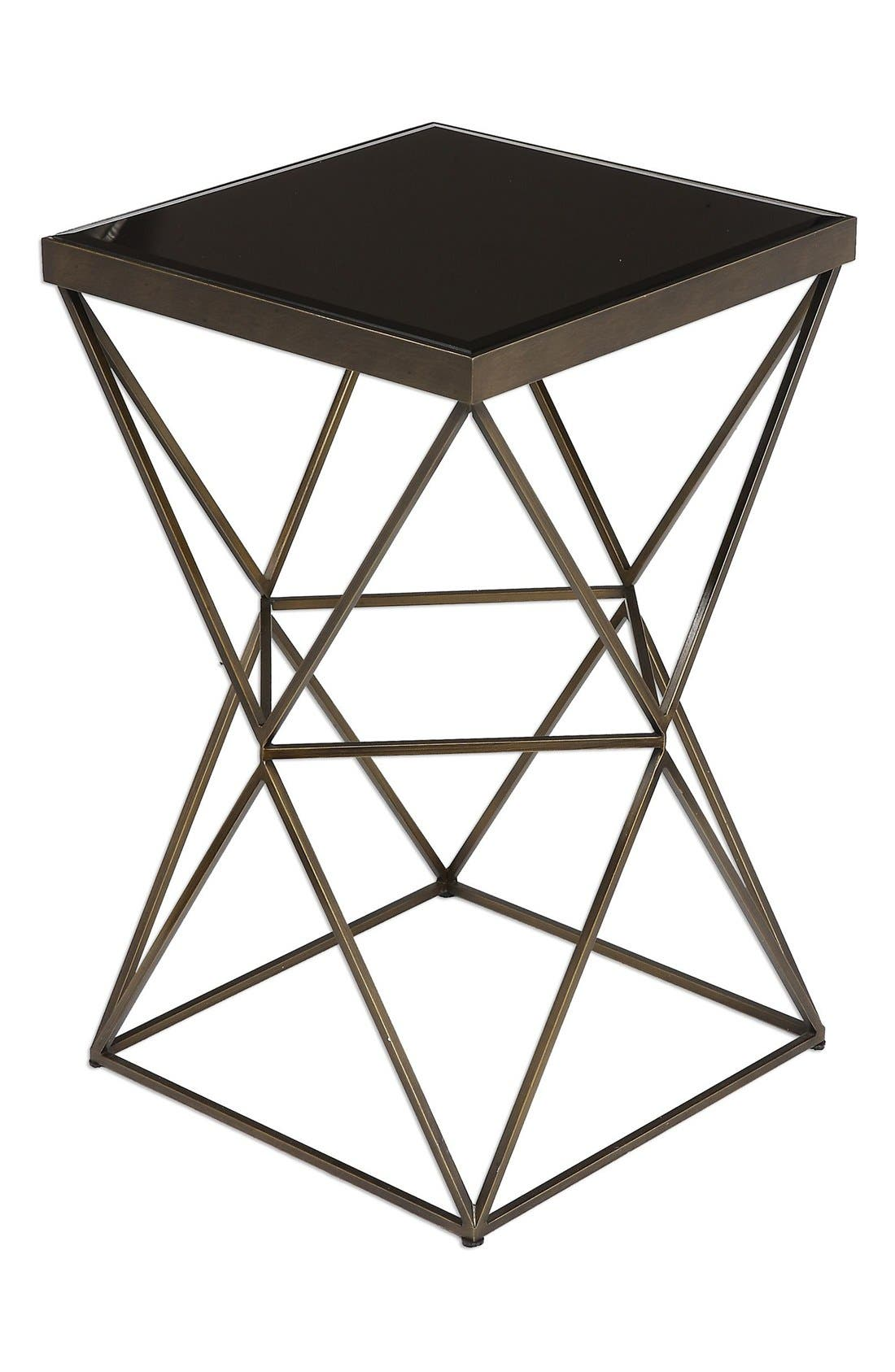'Uberto' Accent Table,                             Main thumbnail 1, color,                             Grey