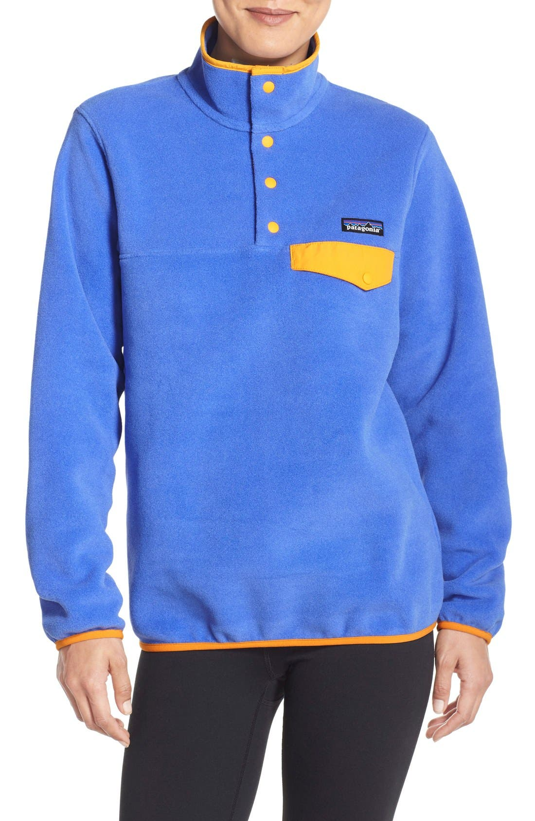 Alternate Image 1 Selected - Patagonia 'Synchilla' Fleece Pullover