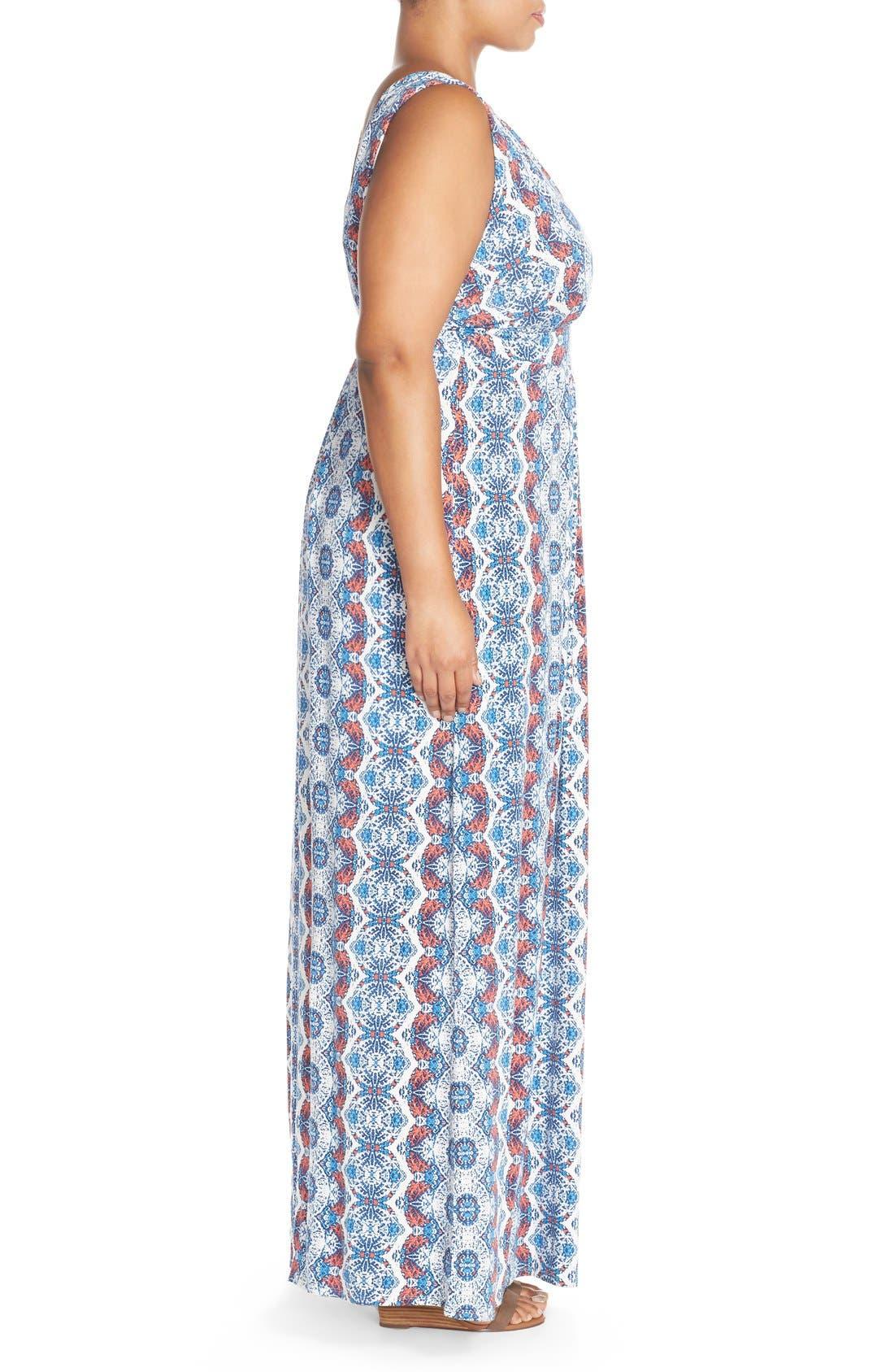Alternate Image 3  - Tart Chloe Empire Waist Maxi Dress (Plus Size)