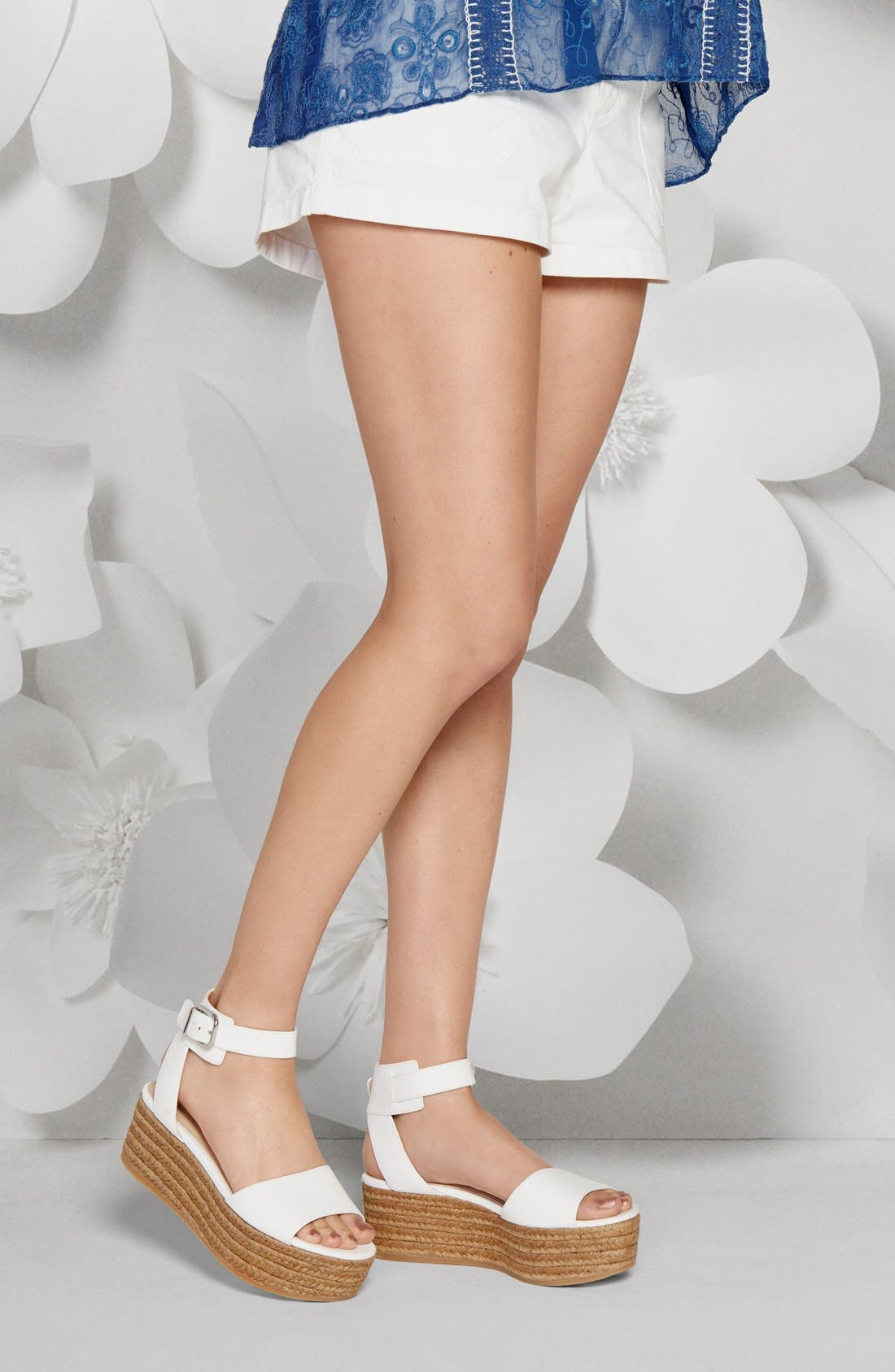 Alternate Image 8  - Via Spiga 'Nemy' Platform Sandal (Women)