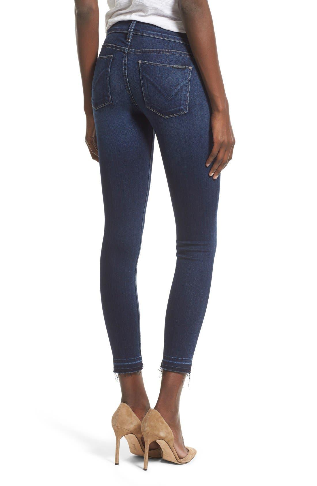 Alternate Image 2  - Hudson Jeans 'Krista' Release Hem Jeans (Crest Falls)