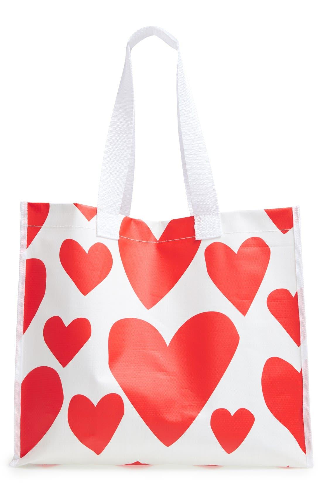 Main Image - ban.do 'I Want It All - Extreme Hearts' Shopper