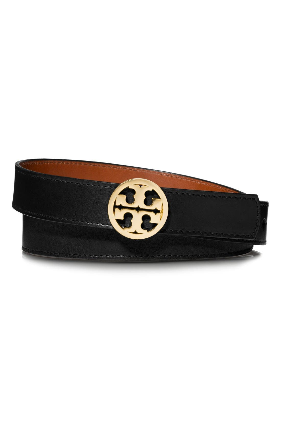 Alternate Image 3  - Tory Burch Reversible Leather Belt