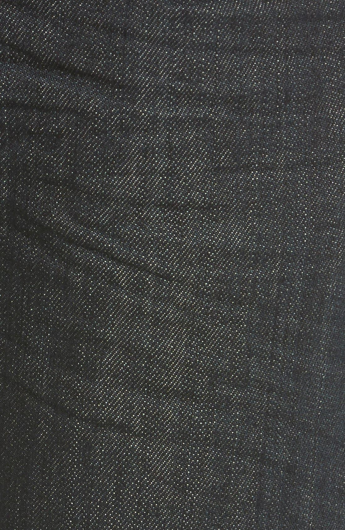 Red Tab<sup>™</sup> '501<sup>®</sup>' Straight Leg Jeans,                             Alternate thumbnail 5, color,                             Dimensional Rigid Blue