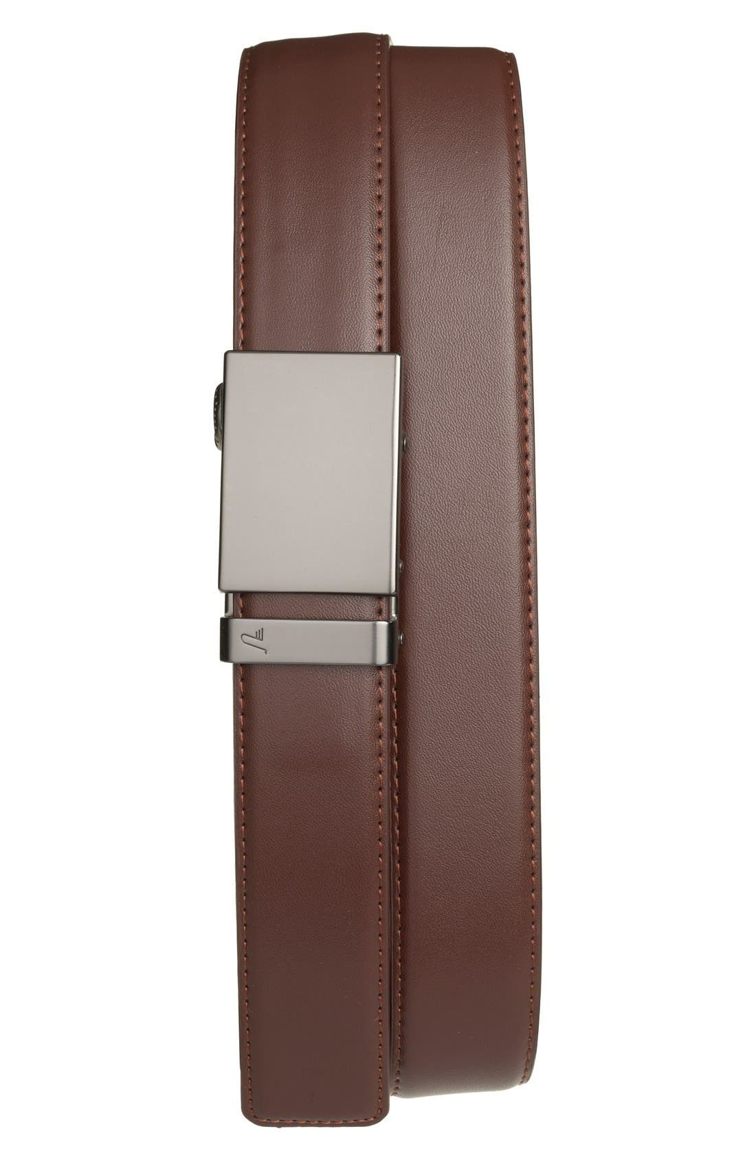 Mission Belt 'Gun Metal' Leather Belt