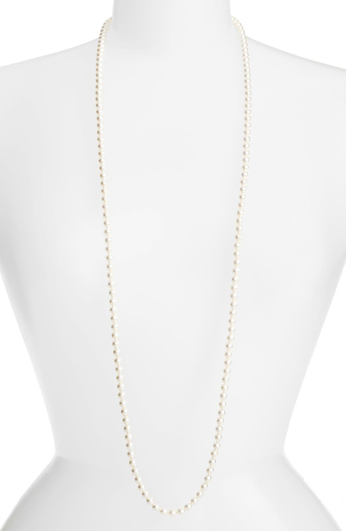NADRI Imitation Pearl Strand Necklace