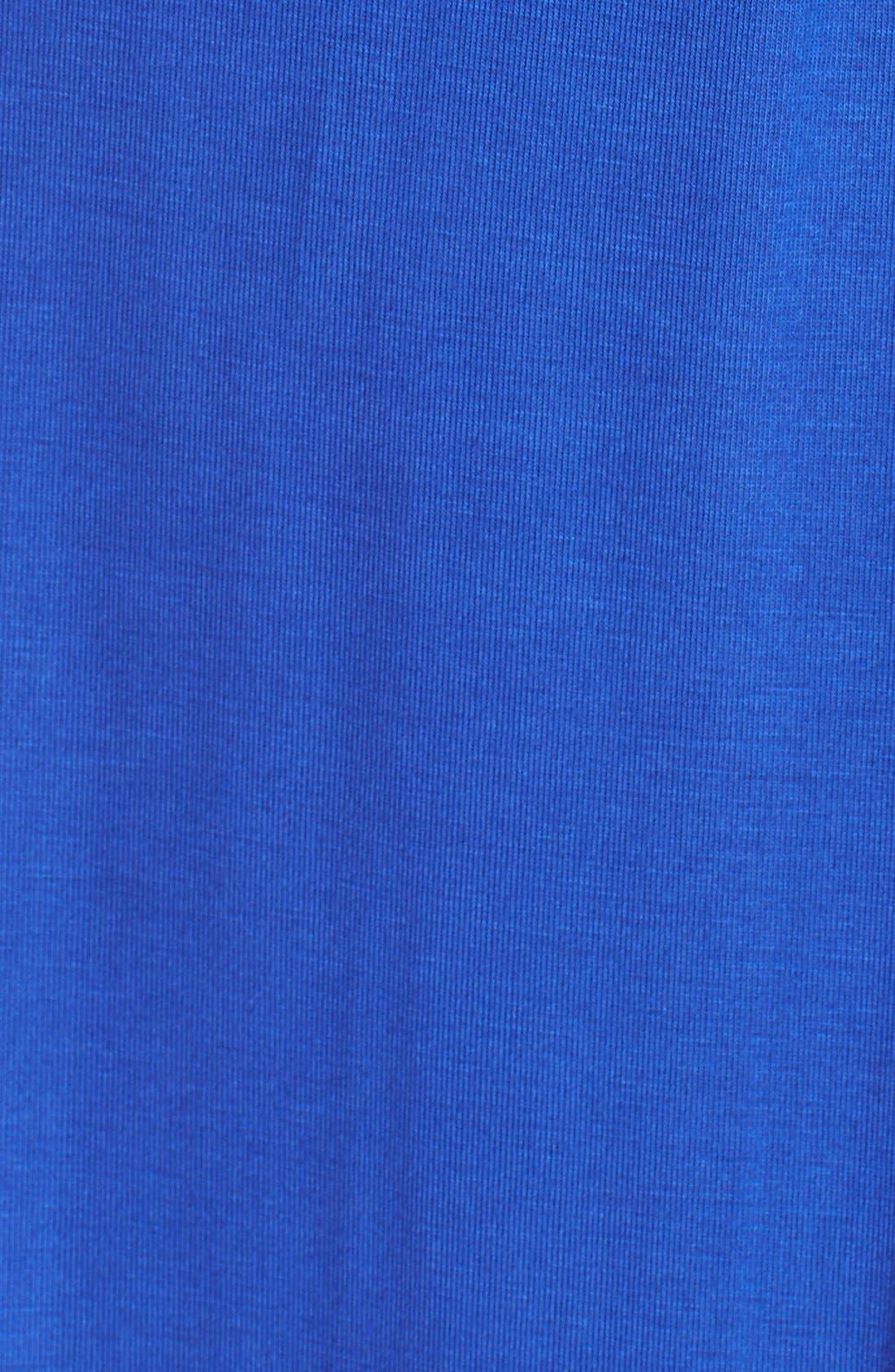 Alternate Image 5  - Fraiche by J Deep V-Neck Jersey Maxi Dress