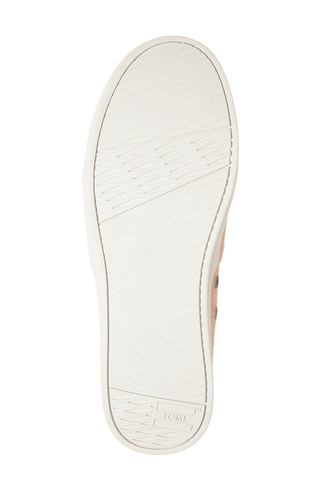 Alternate Image 4  - TOMS 'Avalon' Nubuck Leather Slip-On (Women)