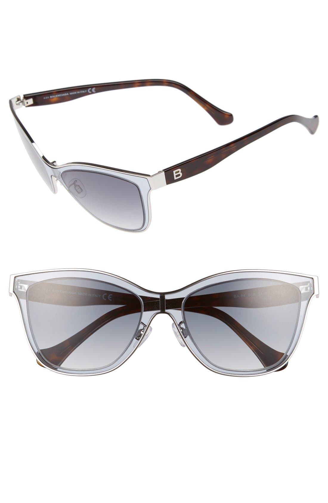 Alternate Image 1 Selected - Balenciaga Paris 54mm Sunglasses