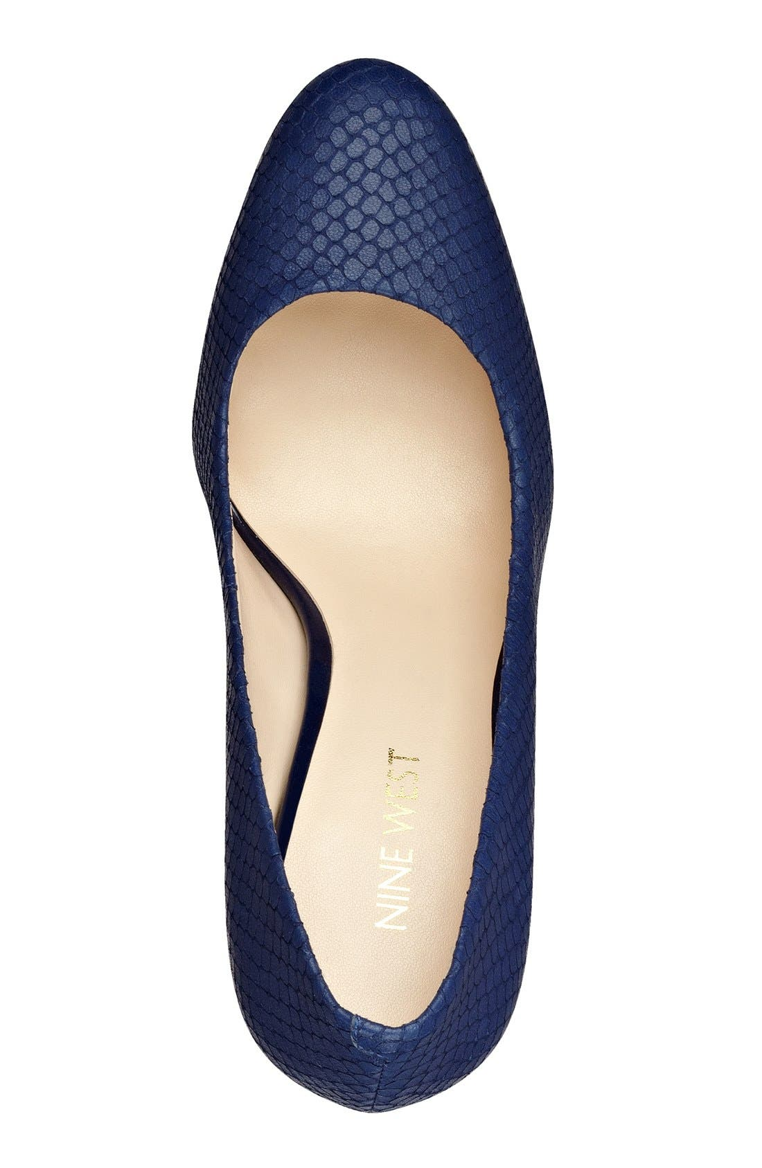 Alternate Image 3  - Nine West 'Handjive' Almond Toe Pump (Women)