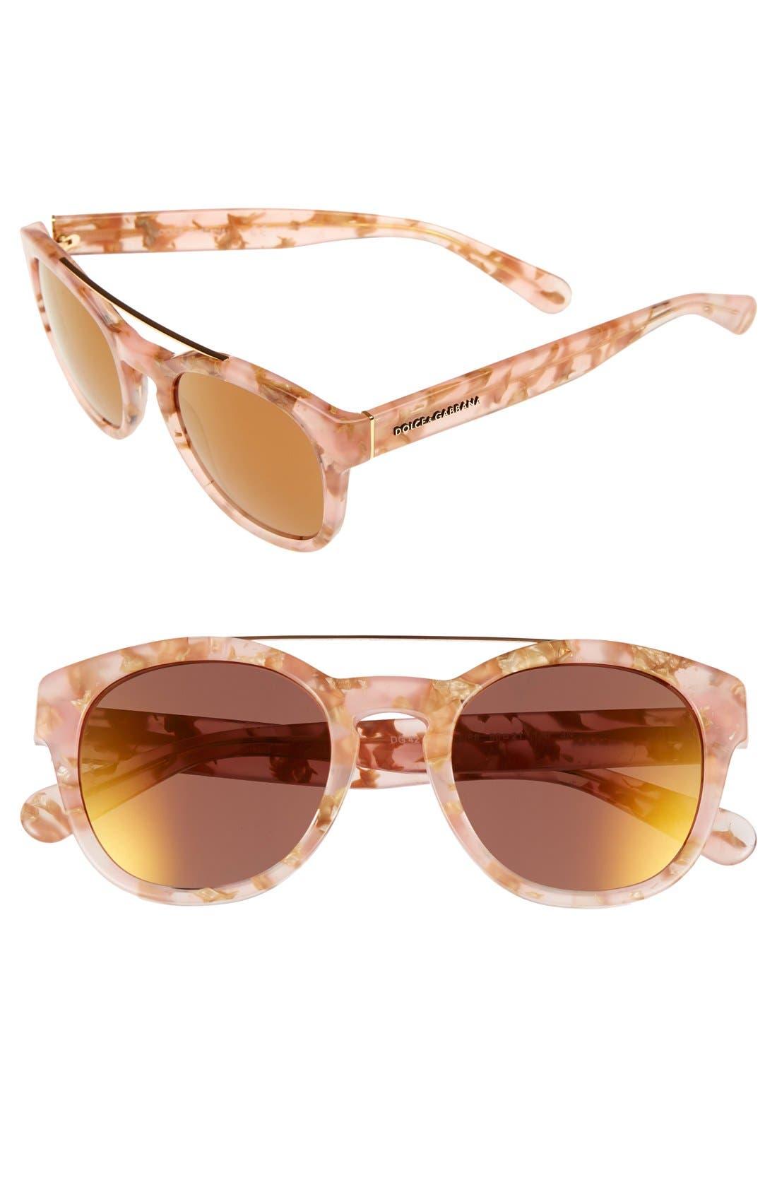 Main Image - Dolce&Gabbana 50mm Sunglasses