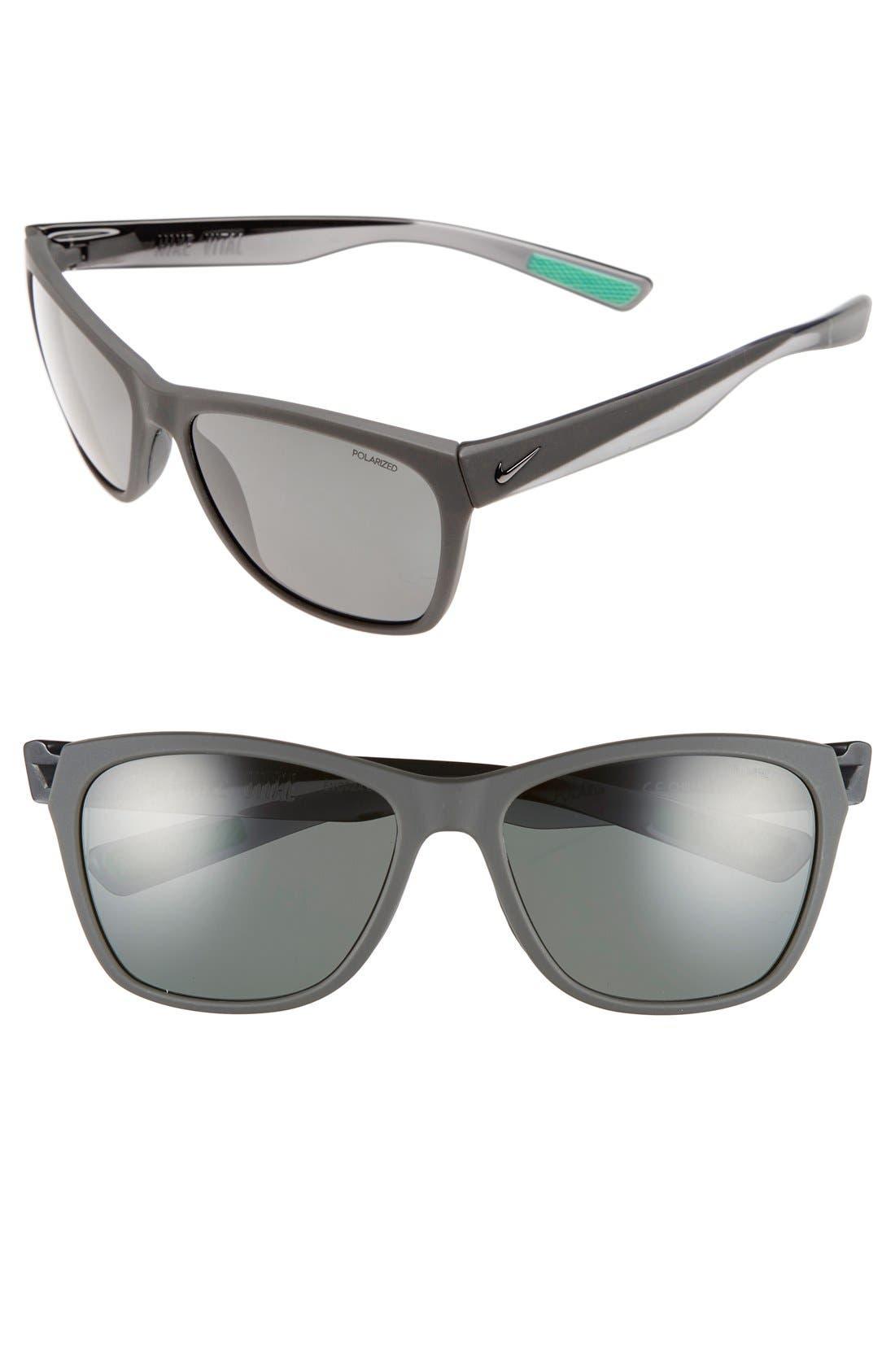 Alternate Image 1 Selected - Nike 'Vital' 58mm Polarized Sunglasses