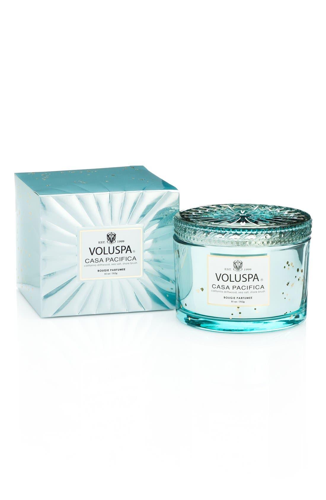 Alternate Image 2  - Voluspa 'Maison Blanc - Casa Pacifica' Boxed Lidded Candle