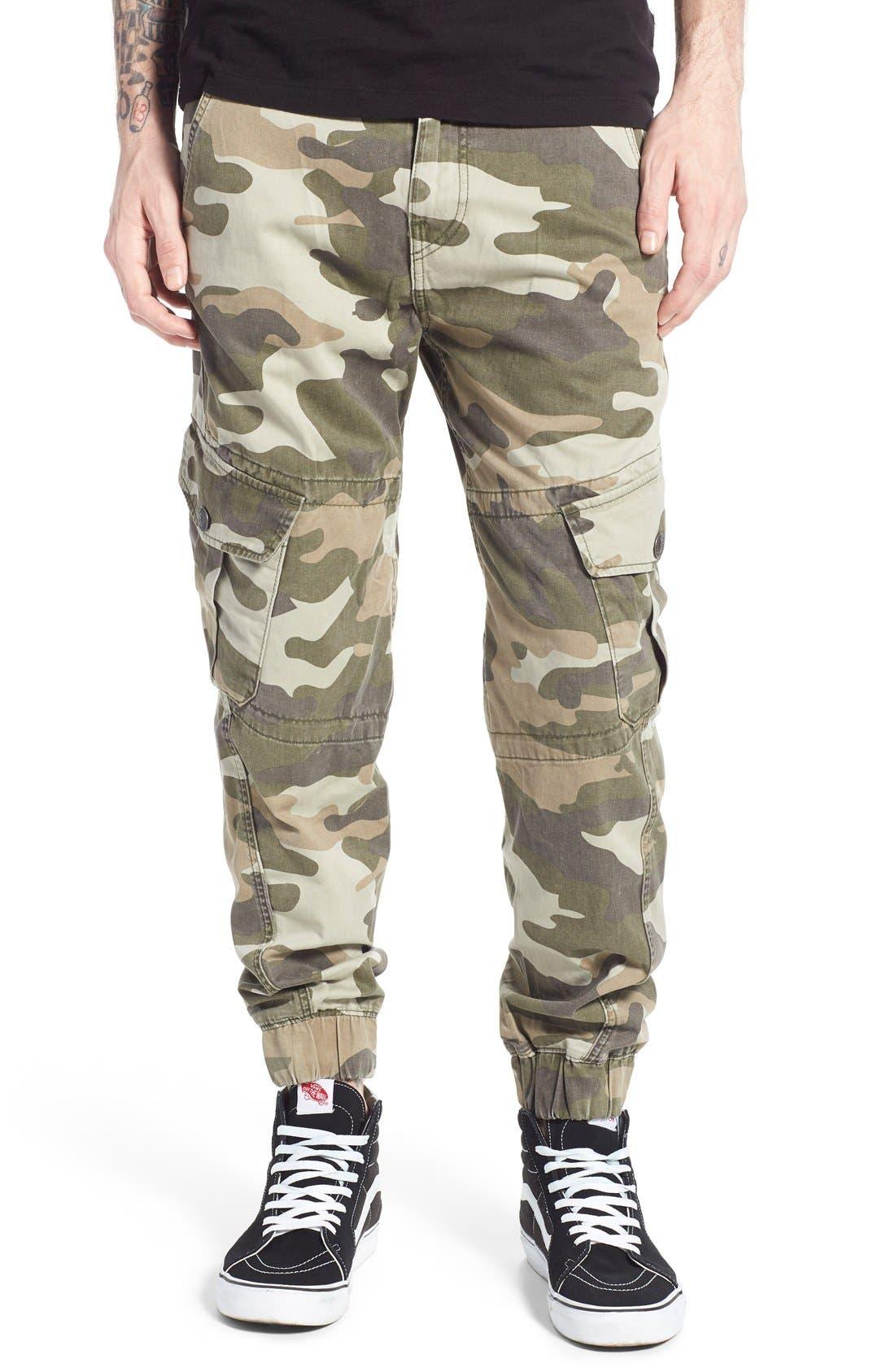 True Religion Brand Jeans Camo Cargo Jogger Pants (CWF ...