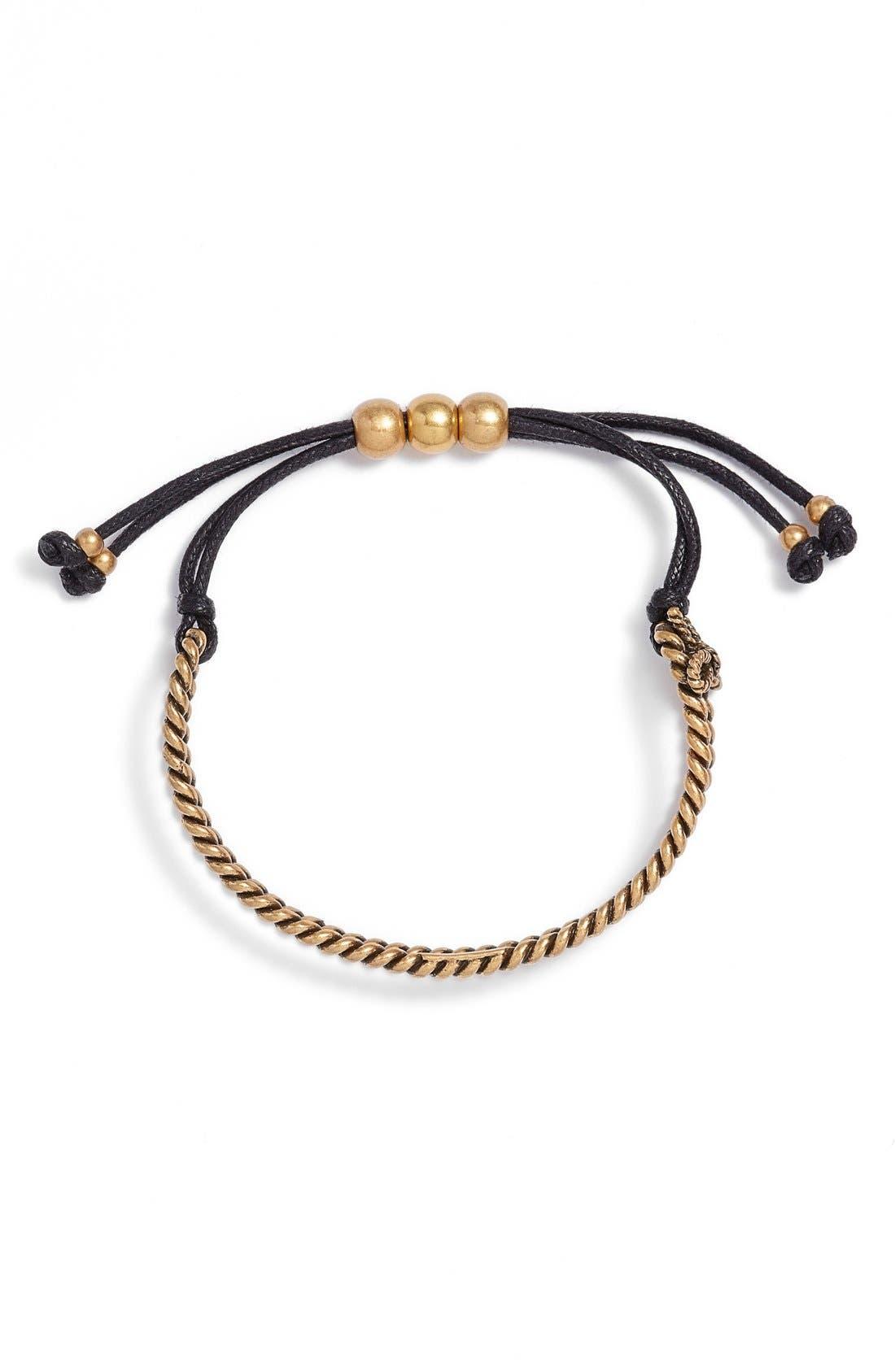 Alternate Image 1 Selected - MARC JACOBS Rope Friendship Bracelet