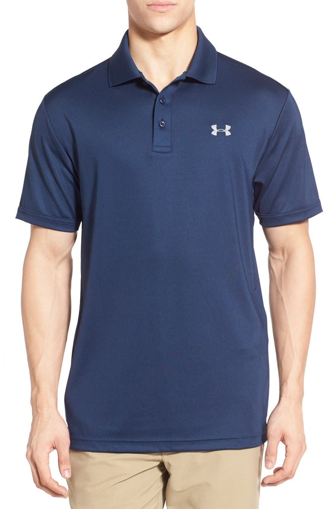 Main Image - Under Armour 'Performance 2.0' Sweat Wicking Stretch Polo