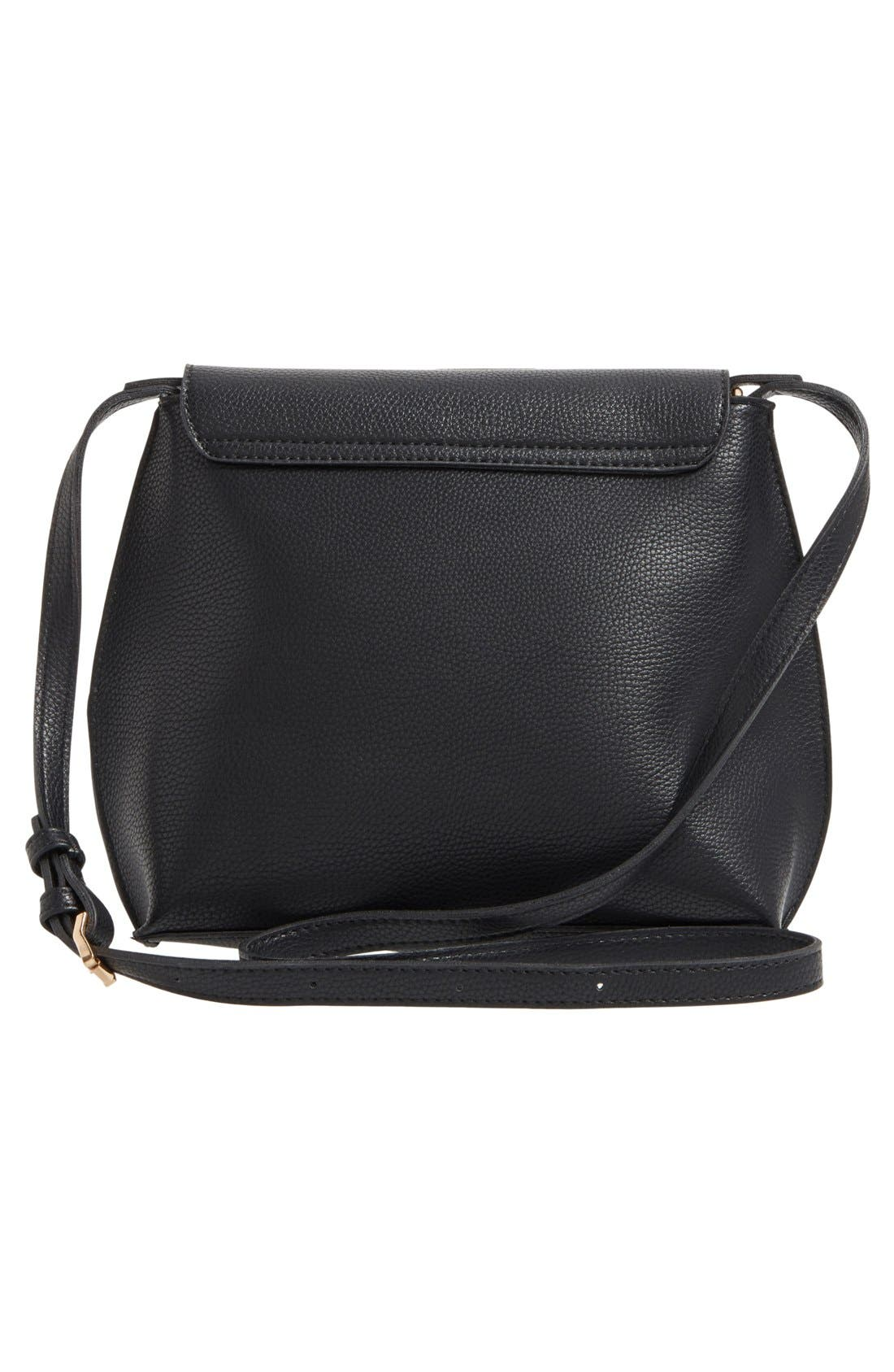 Alternate Image 3  - Sole Society Tassel Faux Leather Crossbody Bag