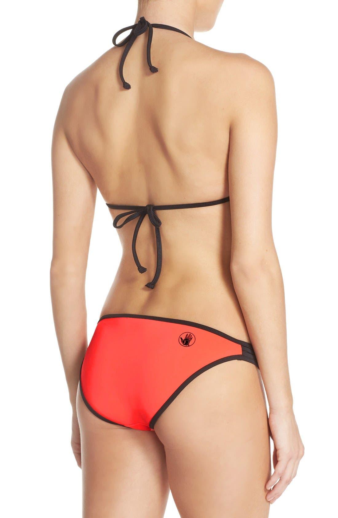Alternate Image 6  - Body Glove 'Forecast' Push-Up Halter Bikini Top