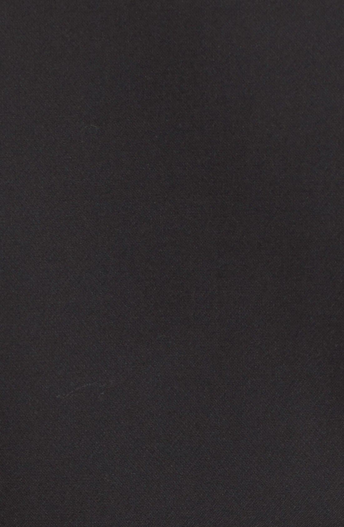 'Bevin' Sheath Dress,                             Alternate thumbnail 5, color,                             Black