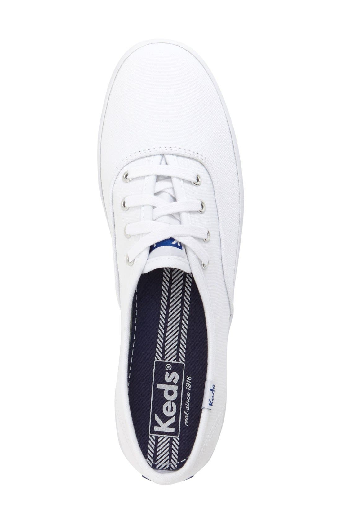 Alternate Image 3  - Keds® 'Champion' Canvas Sneaker (Women)