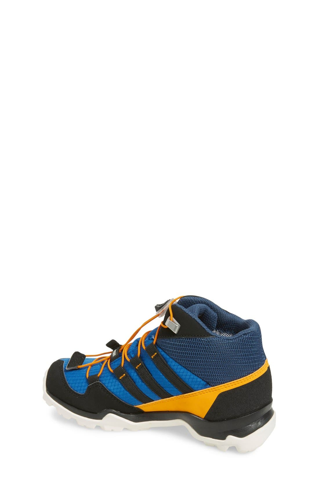 'Terrex Mid Gore-Tex' Hiking Shoe,                             Alternate thumbnail 2, color,                             Blue/ Black/ Orange