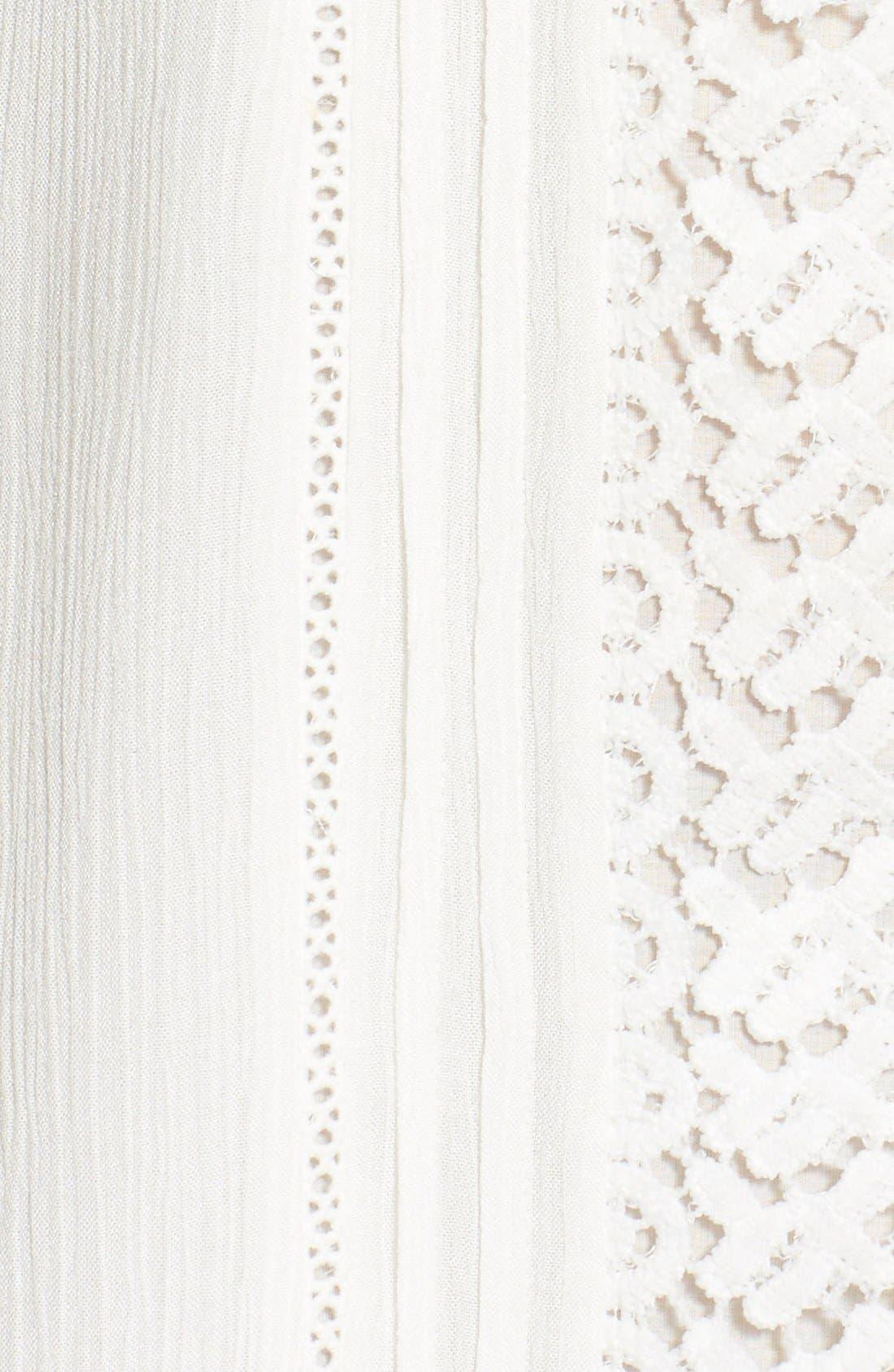 Alternate Image 5  - Sanctuary 'Desert Boheme' Lace Trim Shift Dress
