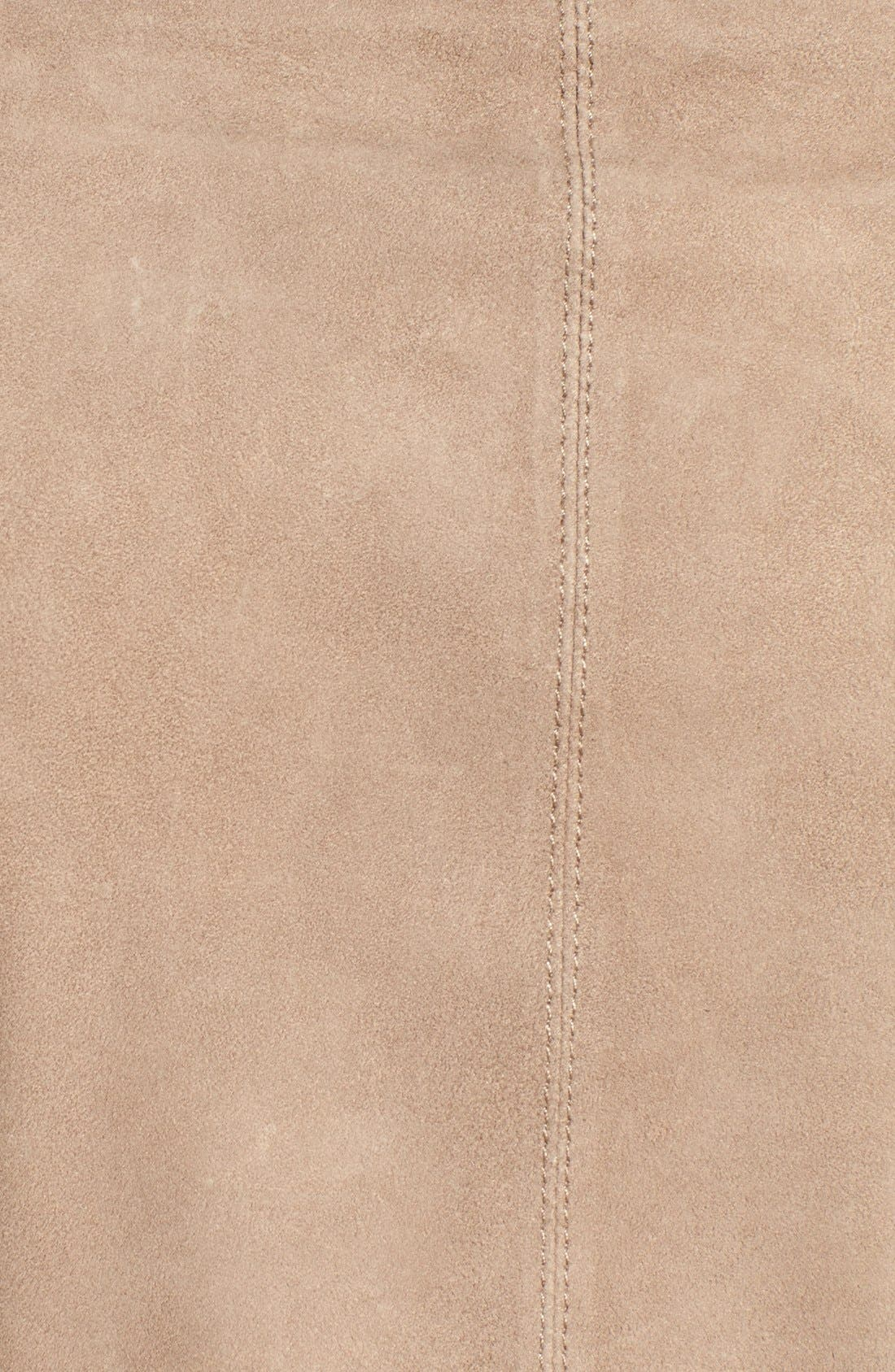 Alternate Image 5  - LAMARQUE Double Collar Suede Jacket