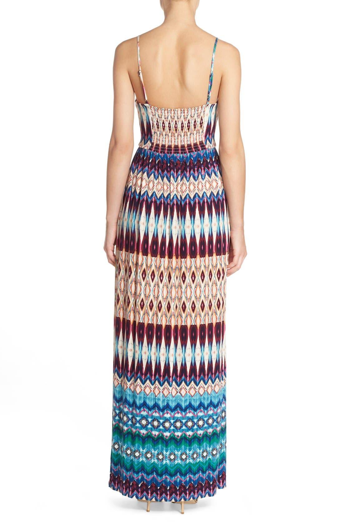 Alternate Image 3  - Felicity & Coco Floral Print Jersey Maxi Dress (Regular & Petite) (Nordstrom Exclusive)