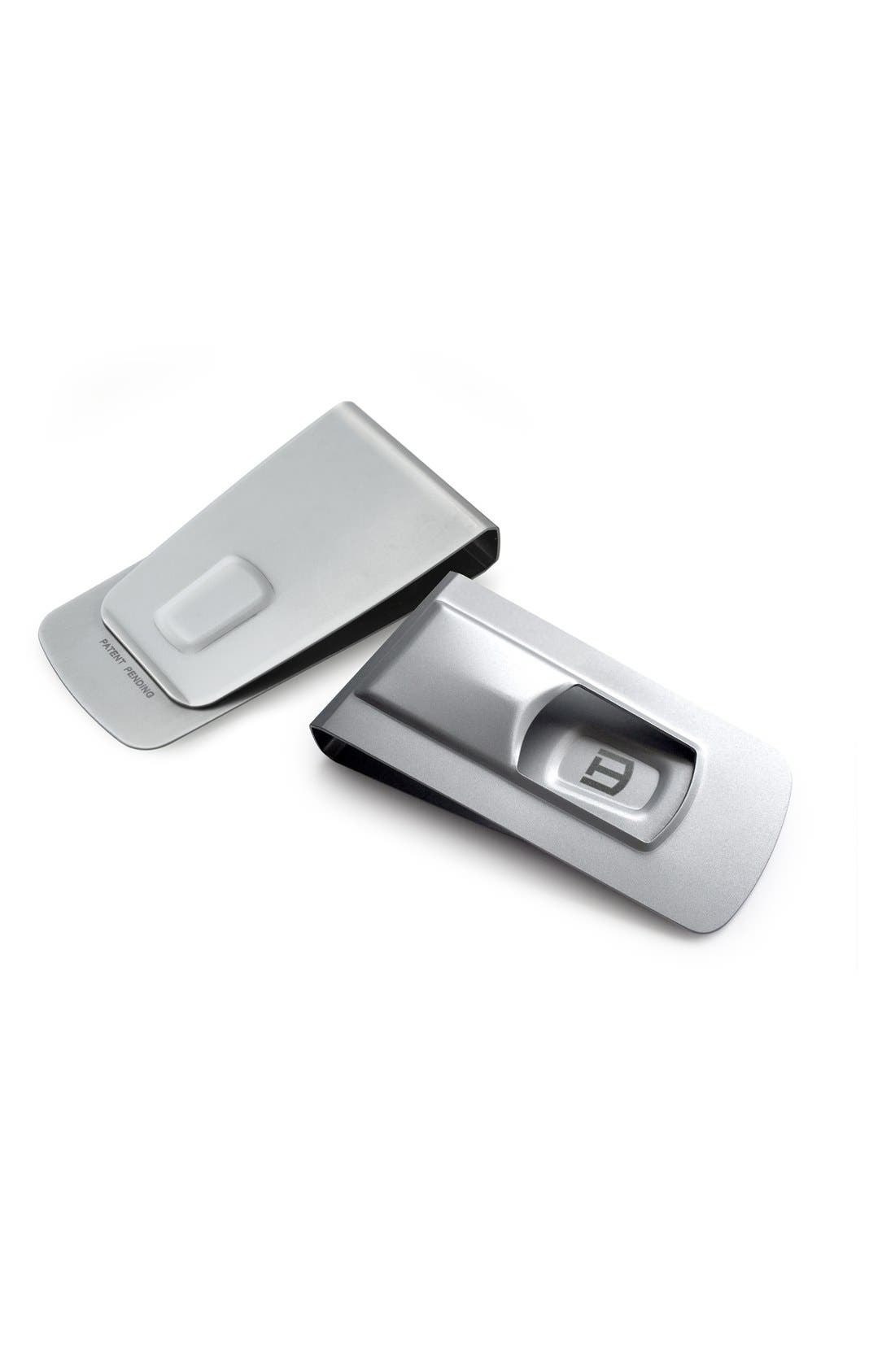 'Tightwad' Money Clip,                             Main thumbnail 1, color,                             Silver Steel