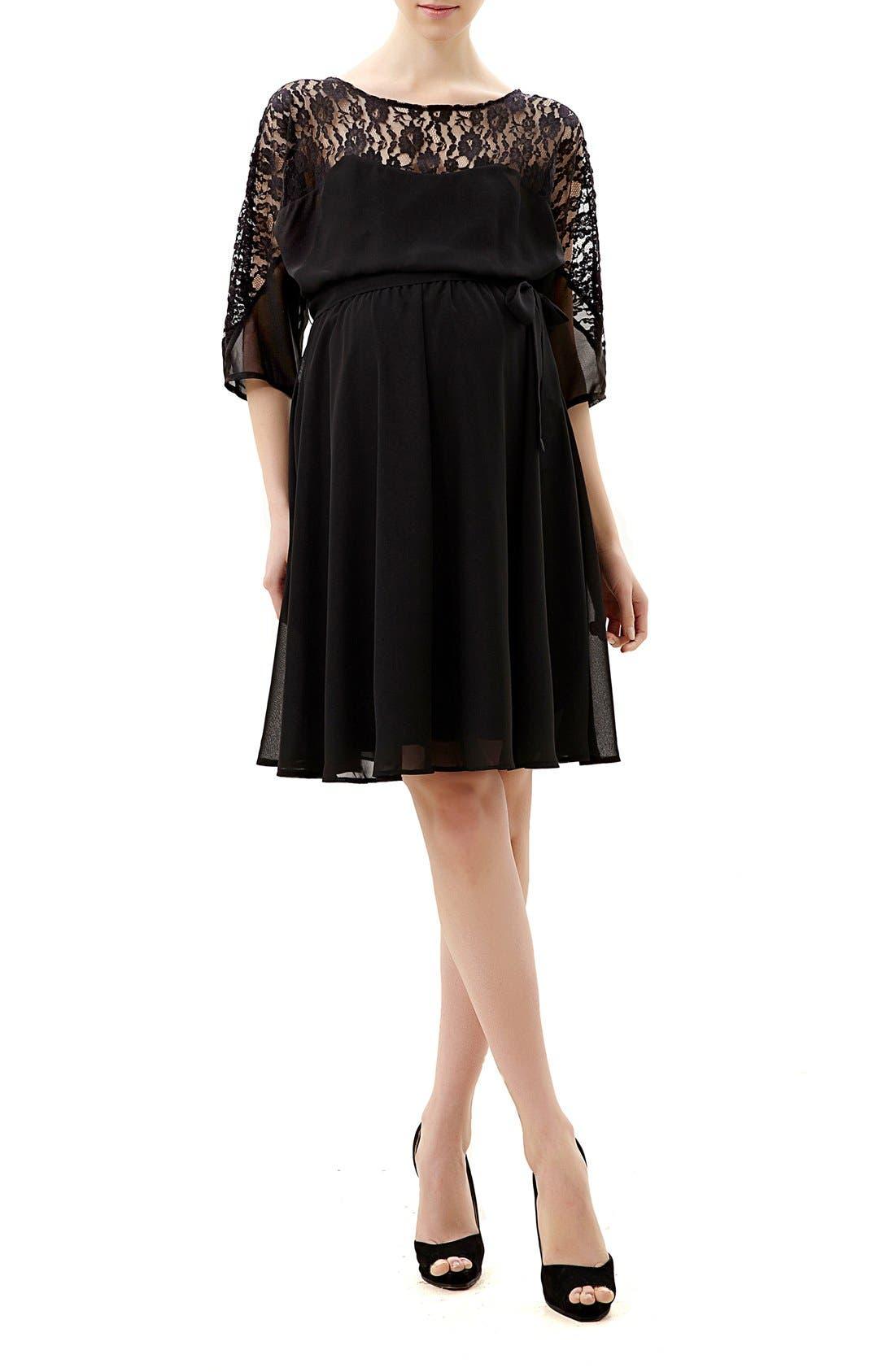Main Image - Kimi and Kai Piper Lace Maternity Dress