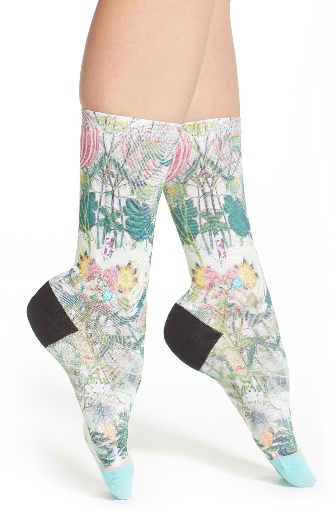 Main Image - Stance 'Chaotic Flower' Socks