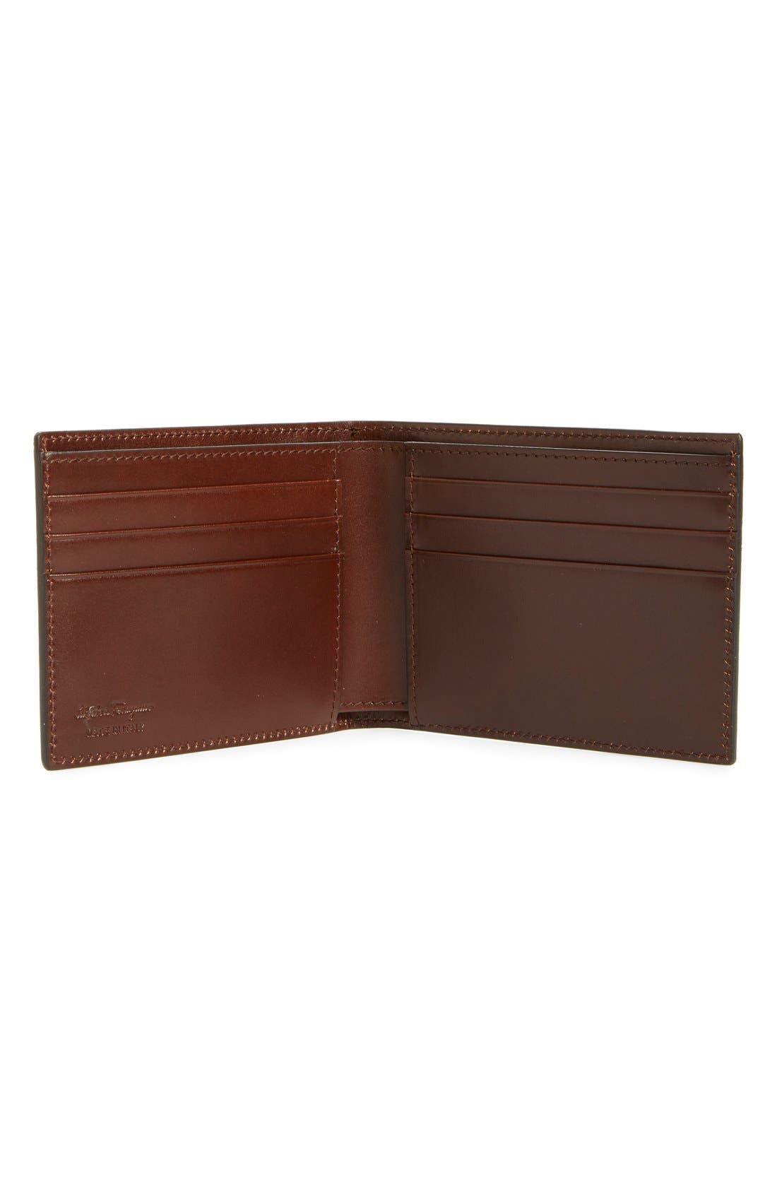Alternate Image 2  - Salvatore Ferragamo Bifold Leather Wallet