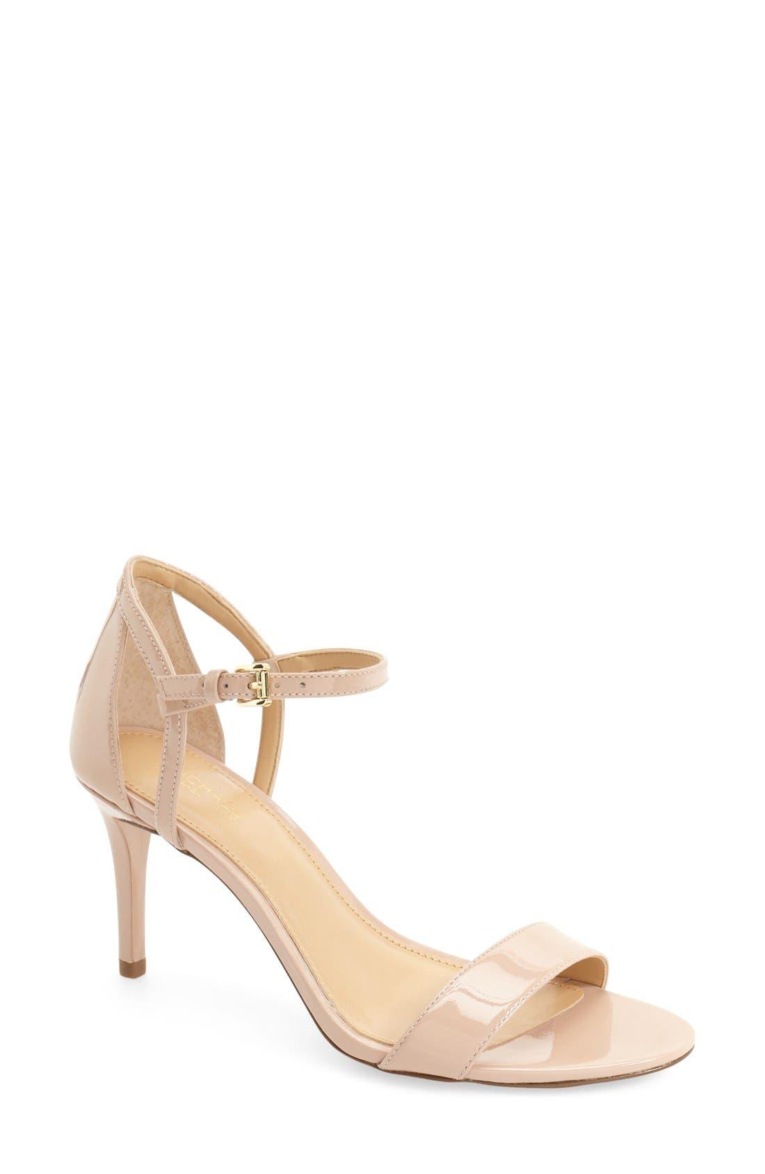'Simone' Sandal,                         Main,                         color, Light Blush