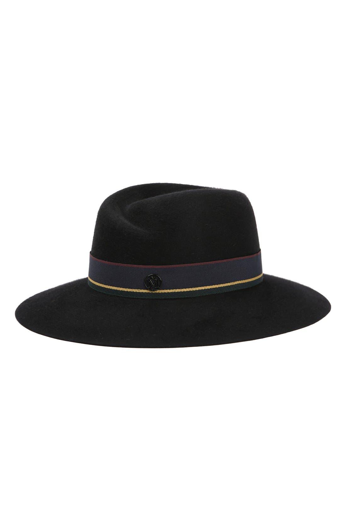 Maison Michel Virginie Fur Felt Hat