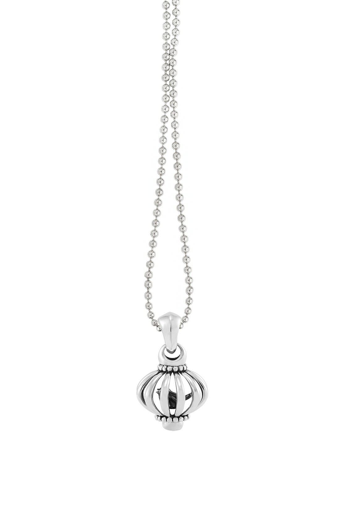 Long Pendant Necklace,                         Main,                         color, Sterling Silver