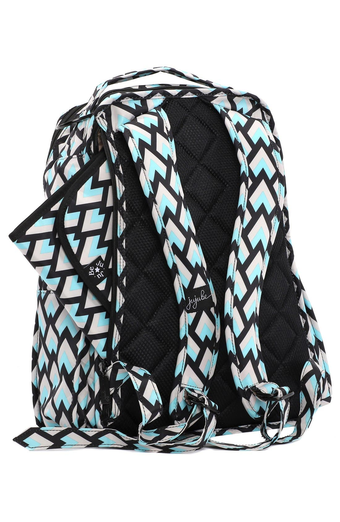 Alternate Image 4  - Ju-Ju-Be 'Be Right Back - Onyx Collection' Diaper Backpack