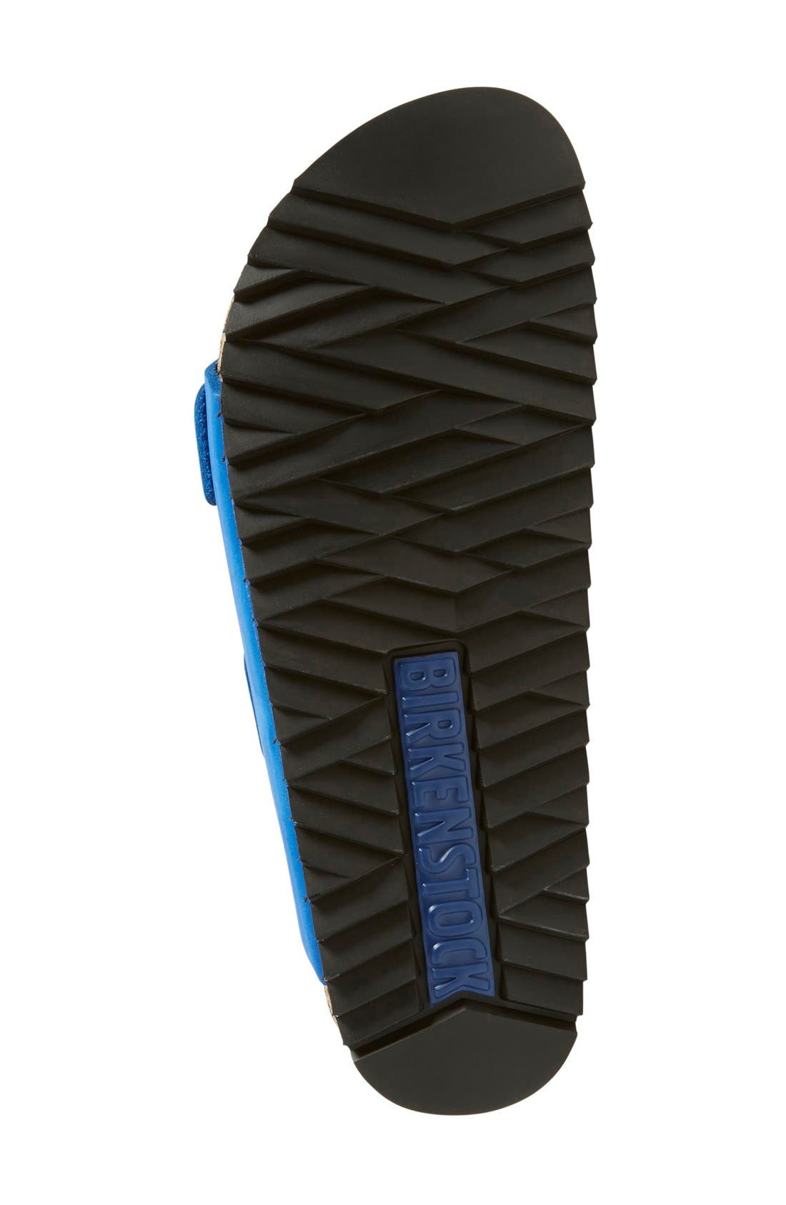 'Arizona' Sandal,                             Alternate thumbnail 4, color,                             Blue Nubuck