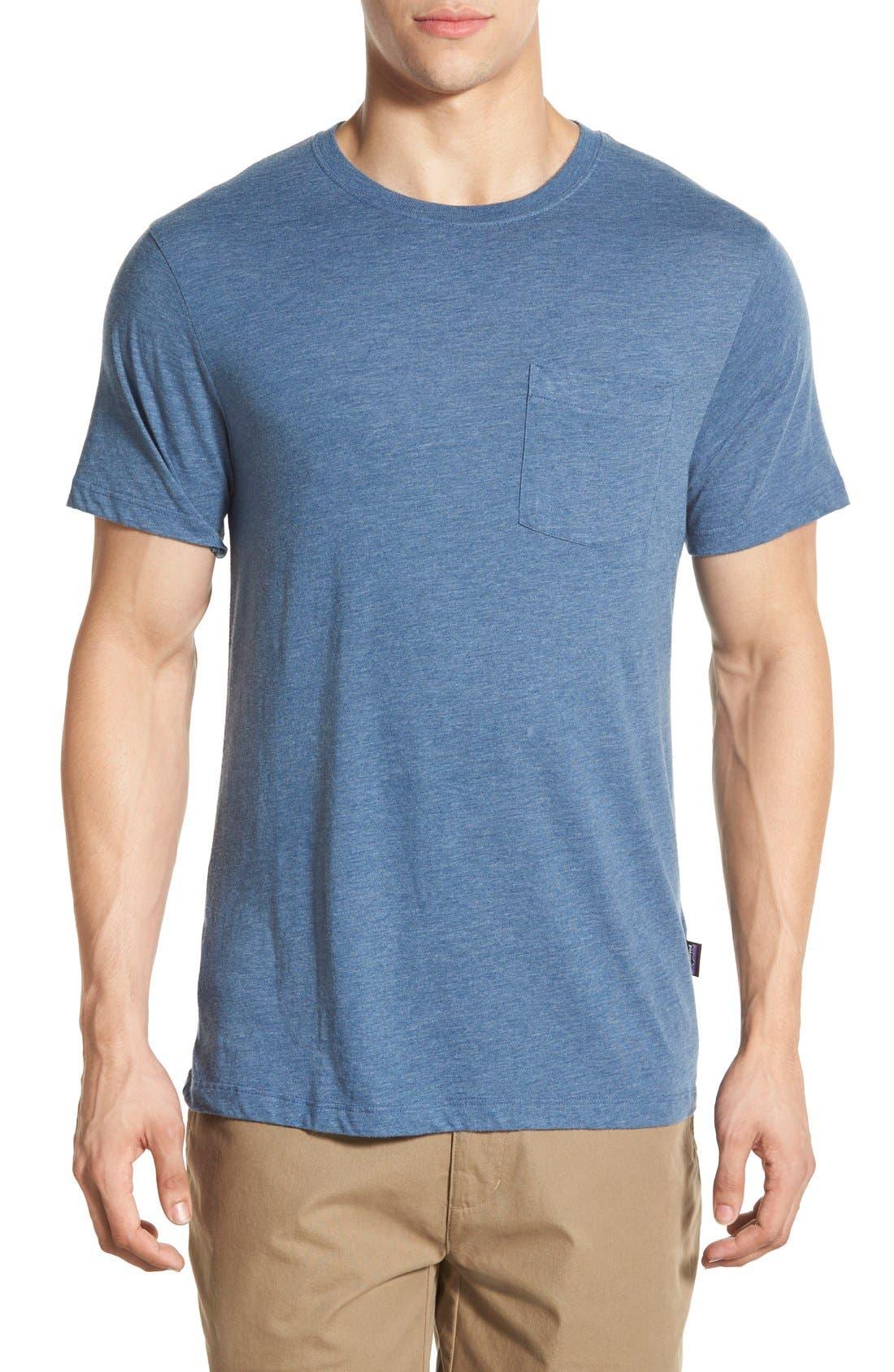 Alternate Image 1 Selected - Patagonia 'Daily Triblend' Pocket T-Shirt