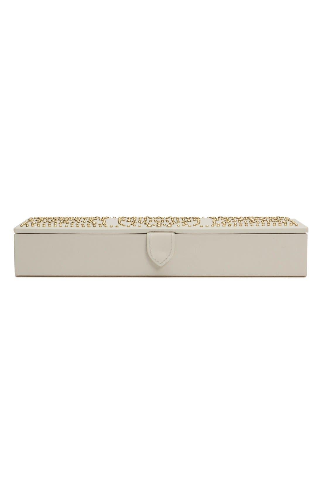 'Marrakesh' Jewelry Box,                             Alternate thumbnail 4, color,                             Cream
