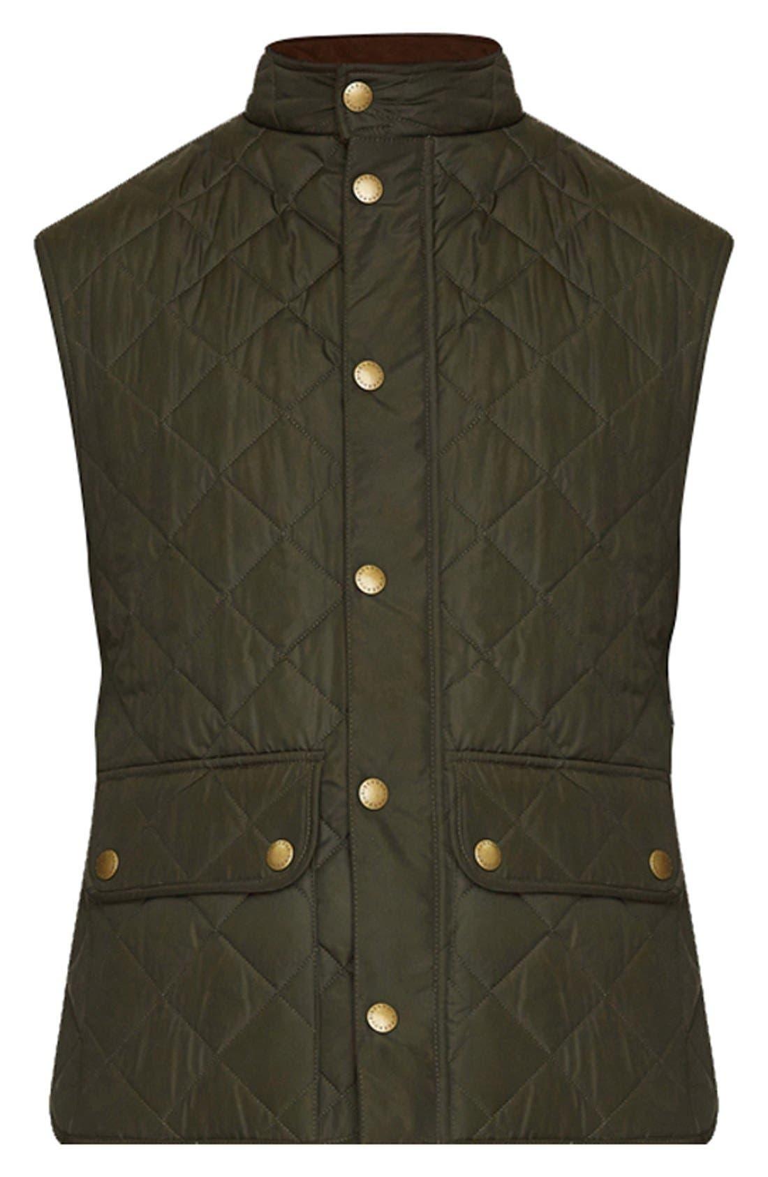 Alternate Image 7  - Barbour 'Lowerdale' Trim Fit Quilted Vest
