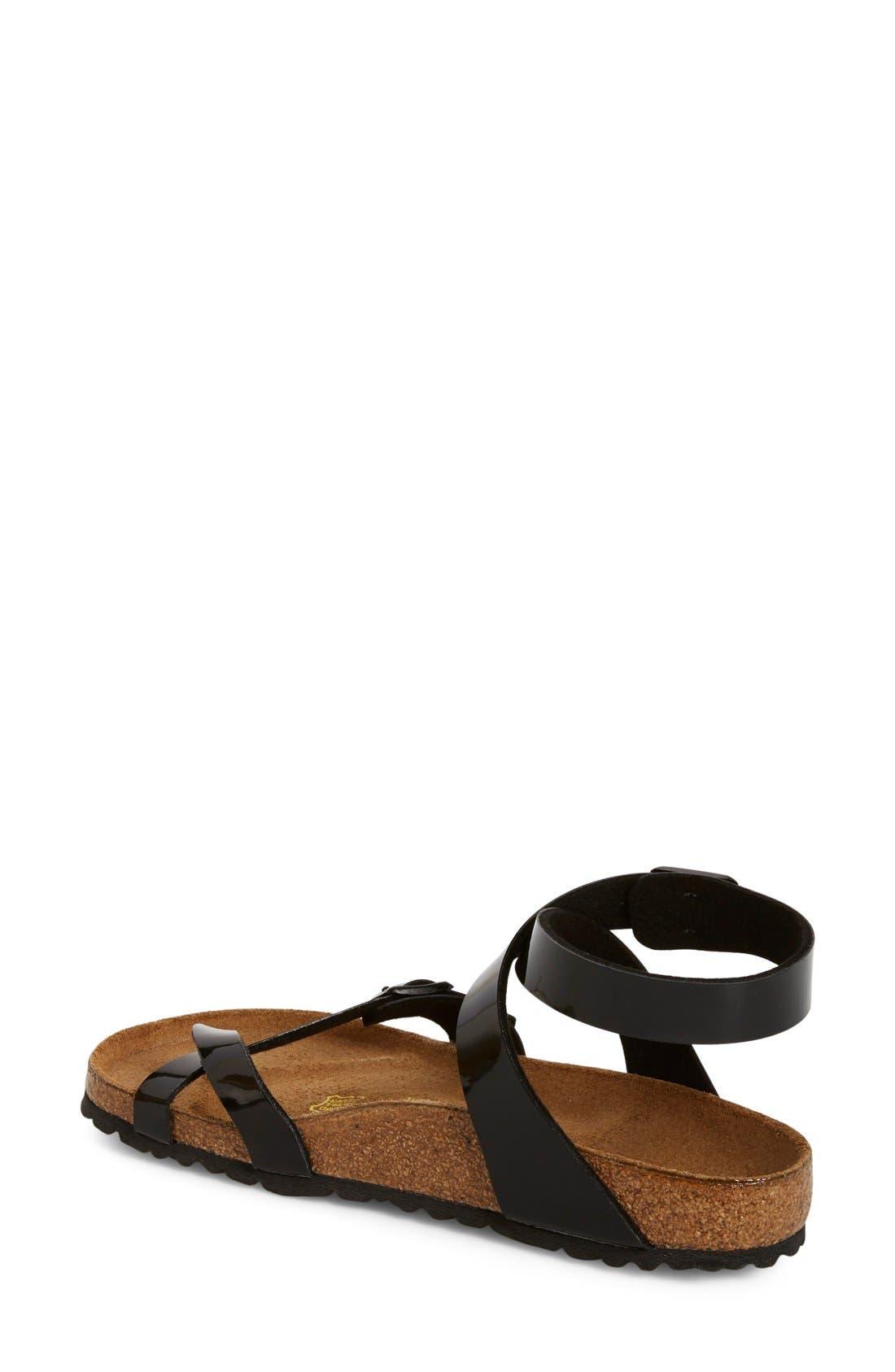 Alternate Image 2  - Birkenstock 'Yara' Birko-Flor™ Ankle Strap Sandal (Women)