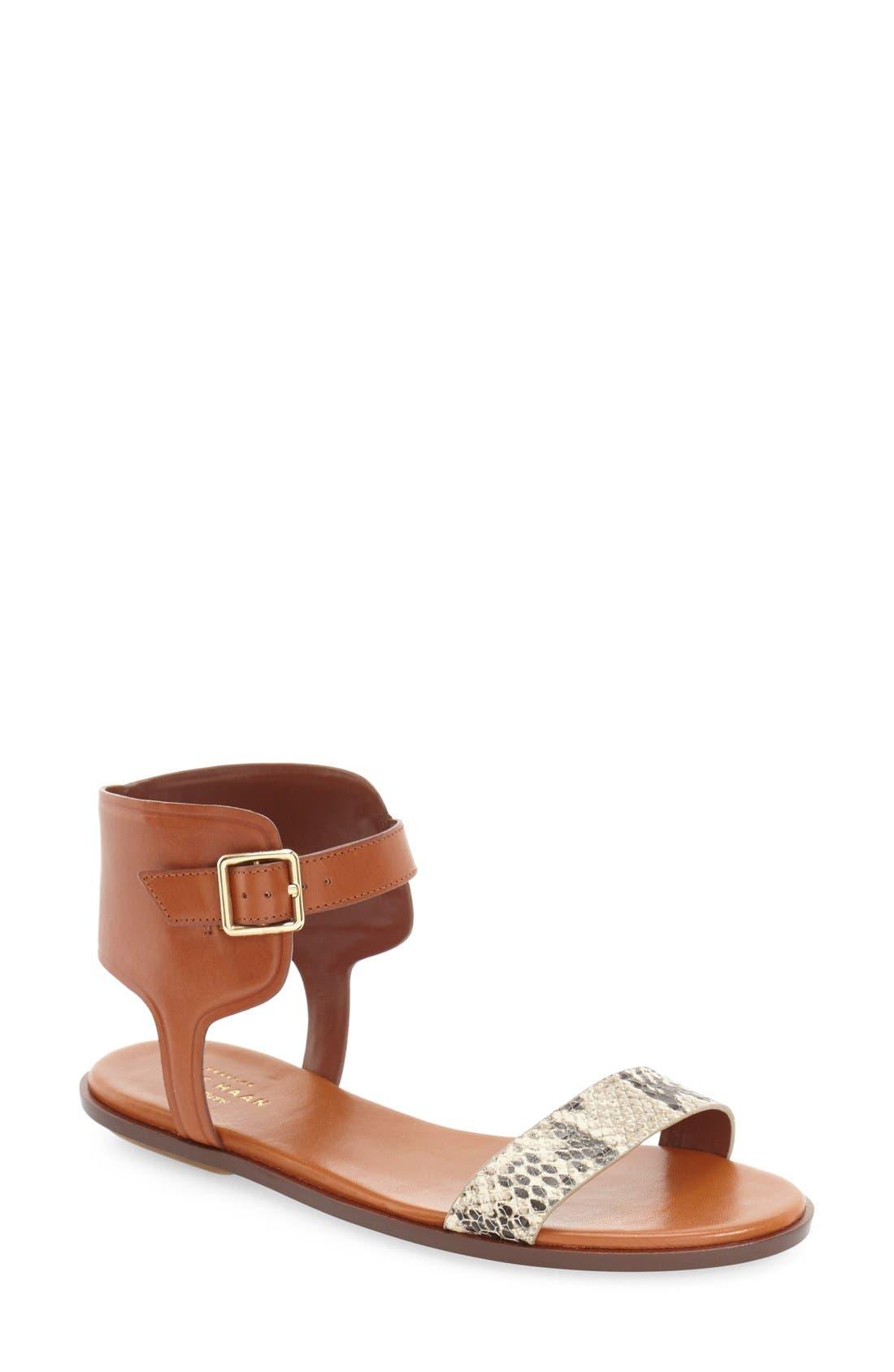 Alternate Image 1 Selected - Cole Haan 'Barra' Flat Sandal (Women)