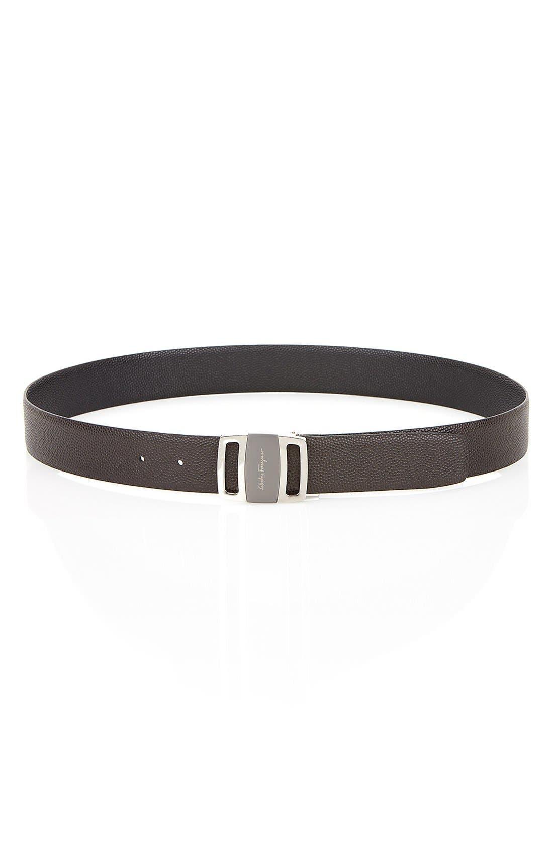 Alternate Image 7  - Salvatore Ferragamo Reversible Leather Belt
