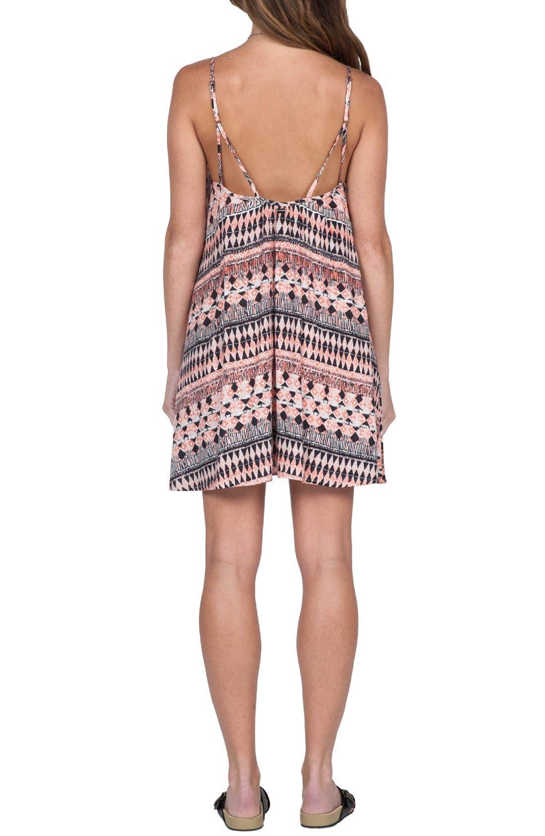 Alternate Image 2  - Volcom 'Back For U' Print Camisole Dress