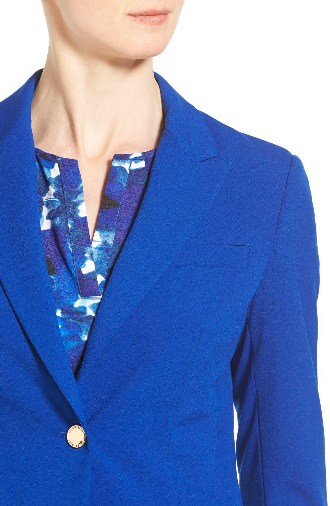 Alternate Image 4  - Ivanka Trump One-Button Jacket