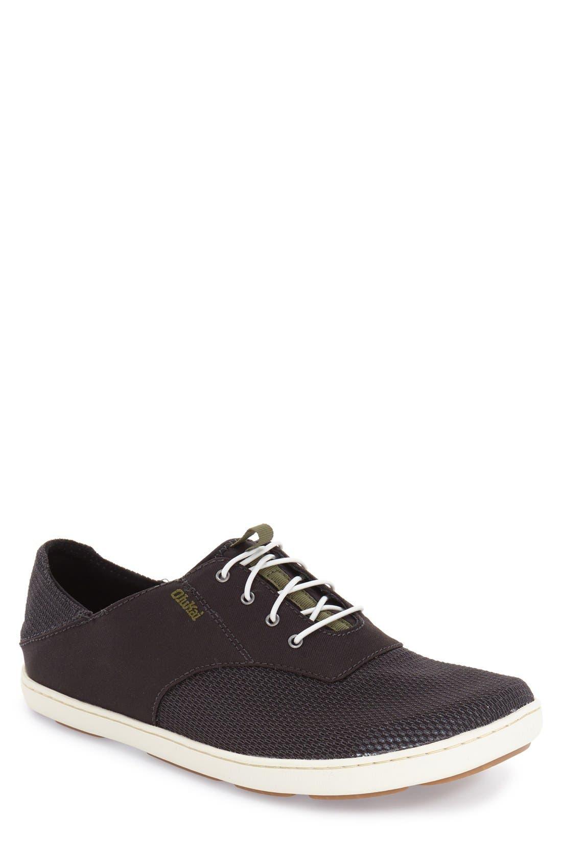 'Nohea Moku' Sneaker,                             Main thumbnail 1, color,                             Black/ Black