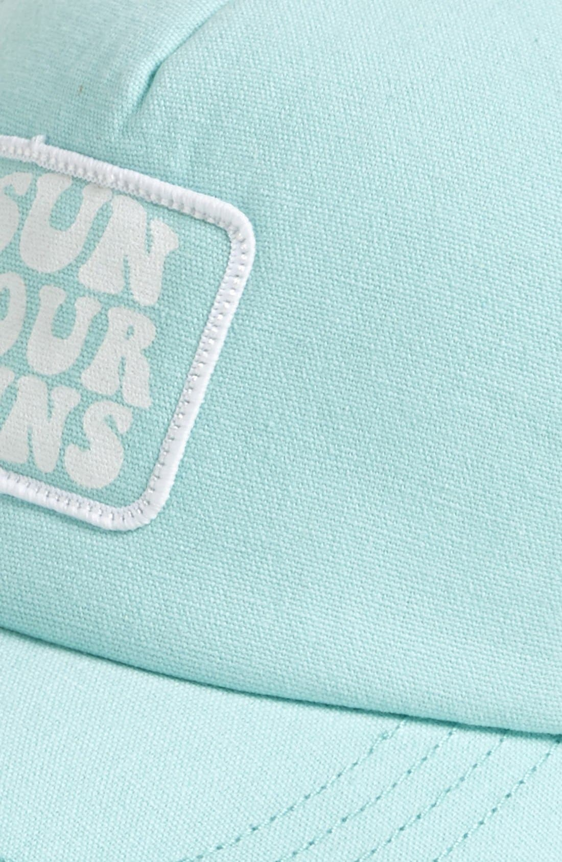 Alternate Image 2  - Billabong 'Sun Your Buns' Baseball Cap