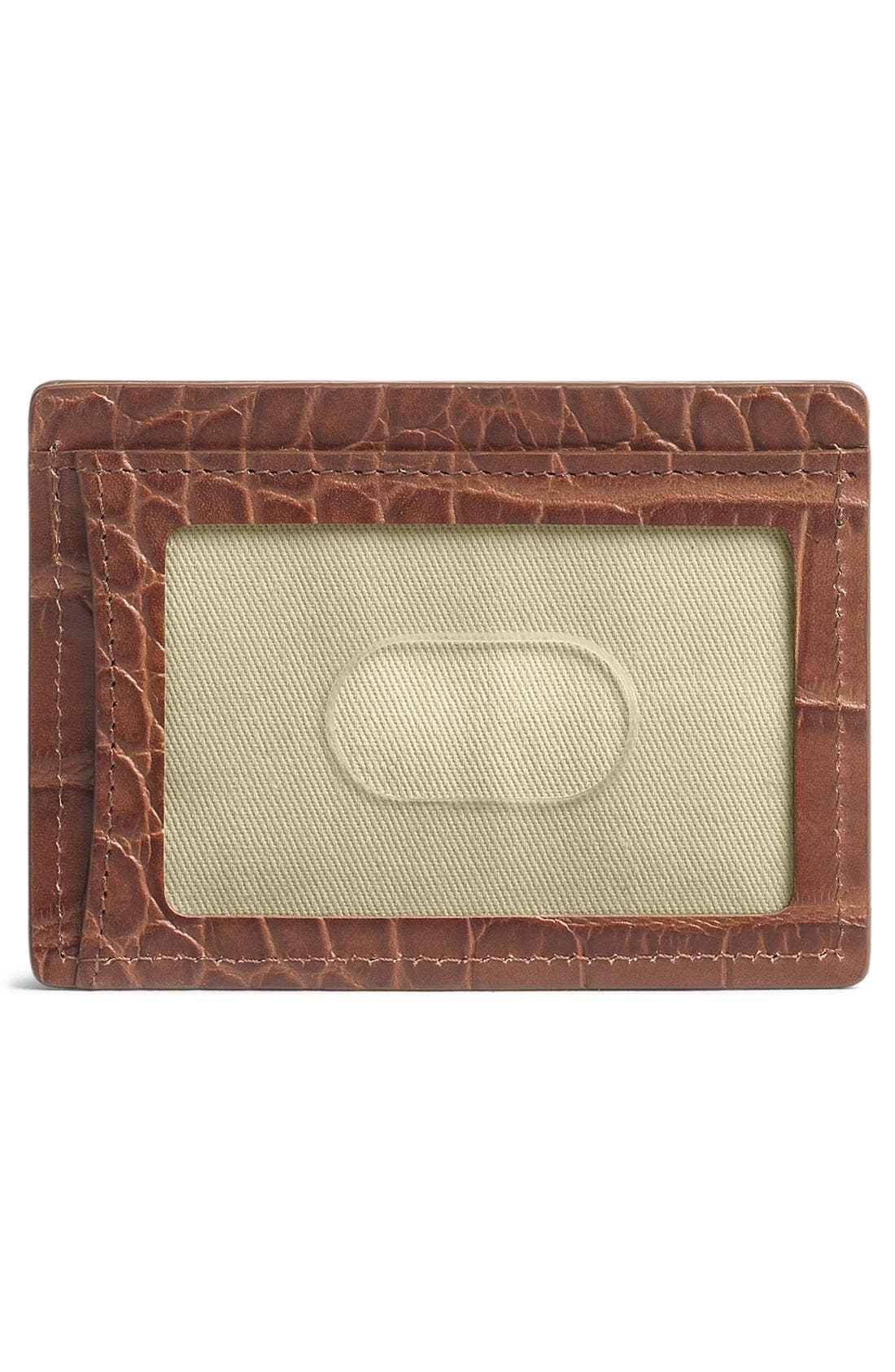 Alternate Image 2  - Trask 'Jackson' Leather Card Case