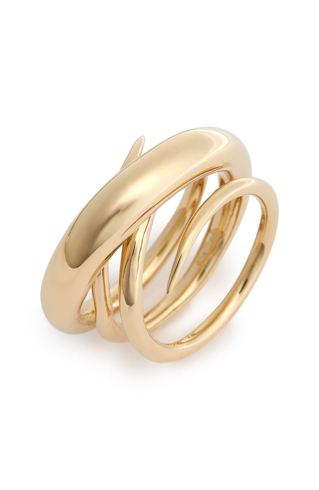 'Hurly Burly' Ring,                         Main,                         color, Vermeil