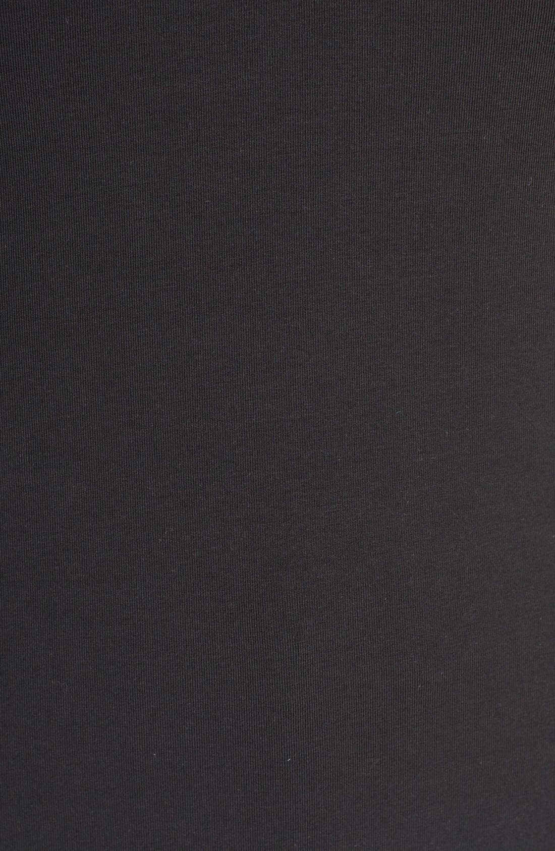 'Sweet Pleat' Sleeveless Top,                             Alternate thumbnail 5, color,                             Black Onyx